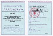 Свидетельство о внесении в реестр аудиторов